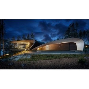 Wave Haus от архитектора Сеппо Мянтюля и Polar Life Haus в журнале Wallpaper.