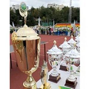Команда Северо-Восточного банка Сбербанка России принимает участие в Х Летней Сбербанкиаде.