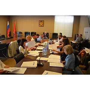 Заседание Оргкомитета конкурса Строймастер-2012