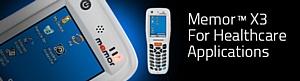 Мобильный компьютер Datalogic Memor X3 HC для здравоохранения