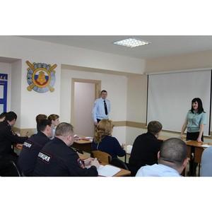 Судебные приставы Томска рассказали бойцам Нацгвардии, как узнать о своих долгах