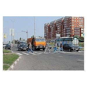 Эксперты ОНФ обратили внимание властей Старого Оскола на проблему опасного пешеходного перехода
