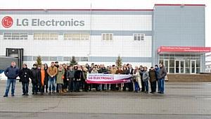 Завод LG Electronics в России - стабильный рост производства
