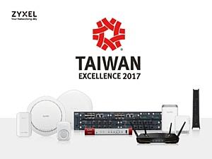 Zyxel стал cамым успешным сетевым брендом года, завоевав 10 наград Taiwan Excellence 2017