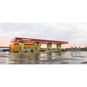 Современный автозаправочный комплекс АЗК 5 GF (Горьковское шоссе, 69 км)