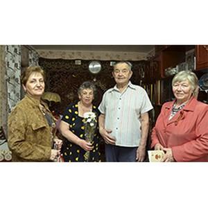 Ветераны-электросетевики Кузбасса принимают поздравления