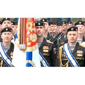 Кинокомпания «Союз Маринс Групп» на встрече ветеранов морской пехоты с парадным полком