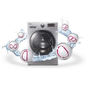 Обновленная линейка стиральных машин LG с технологией «6 движений заботы» для бережной стирки
