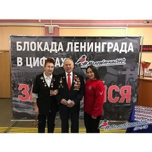 Команда «Молодежки ОНФ» на Ямале приняла участие во всероссийской акции «Открытка памяти»