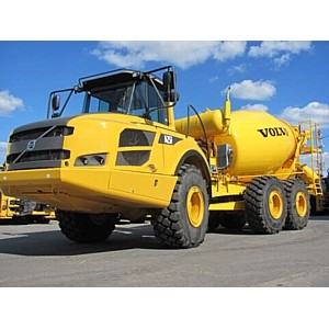 Бетоносмеситель Volvo A25F поможет в строительстве олимпийских объектов