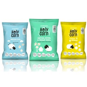 Попкорн Holy Corn – новый продукт в категории здоровых снеков