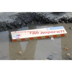 Активисты ОНФ добиваются ремонта самых «убитых» дорог Курганской области
