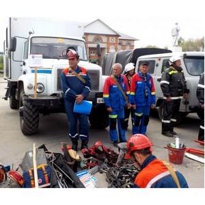 Энергетики филиала «Ульяновские сети» приняли участие в учениях в Николаевском районе