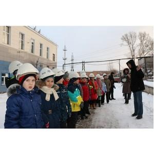 Школьники Анжеро-Судженска побывали на главной подстанции города