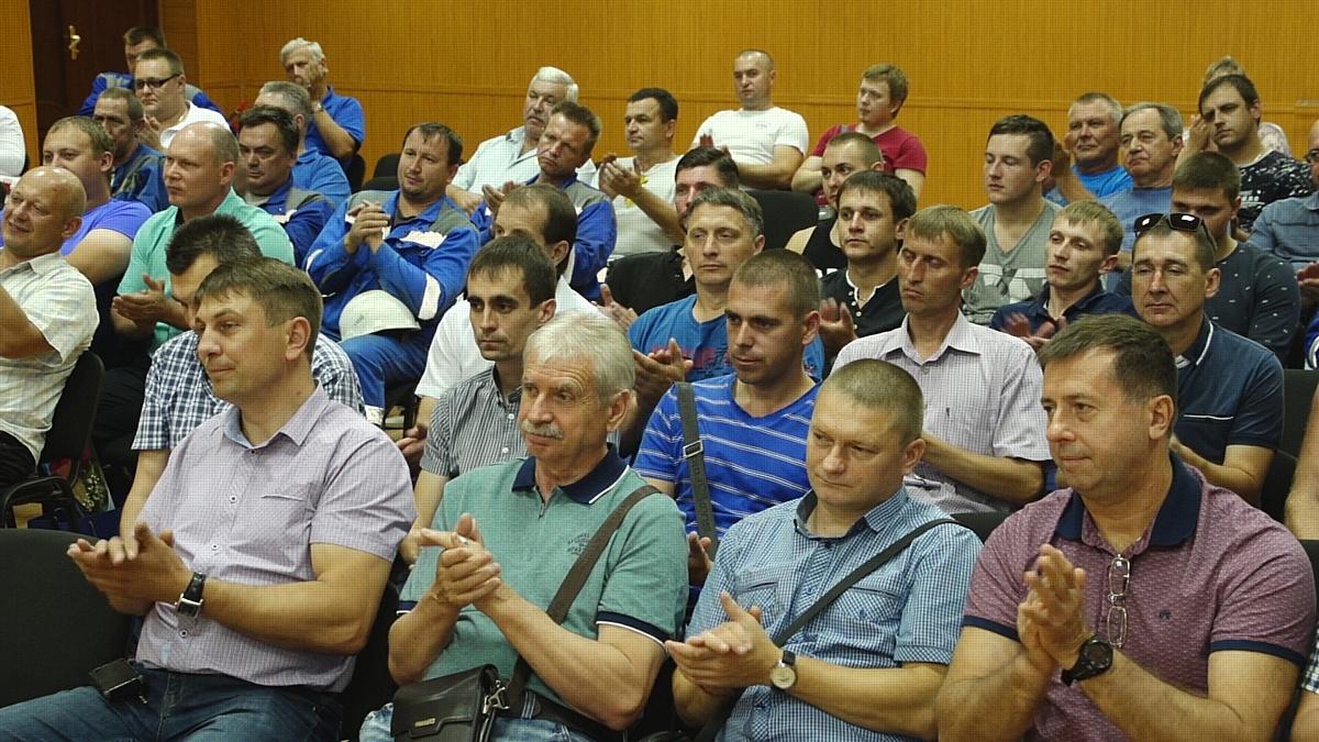 Железнодорожники СГОКа отметили профессиональный праздник
