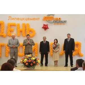 «Липецкцемент» подошел к Дню строителя с рекордными показателями