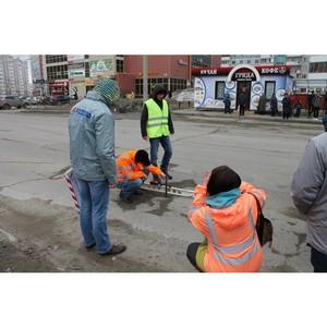 В Барнауле ремонтируют дороги, отмеченные на интерактивной карте дорожного проекта ОНФ