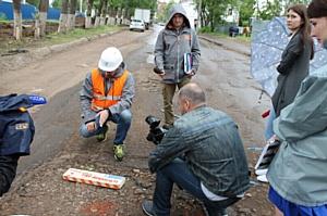 В Саранск с дорожным рейдом прибыла «Дорожная инспекция ОНФ»