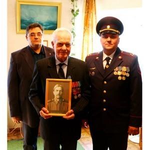 В гостях у ветерана Великой Отечественной войны Михаила Лучина