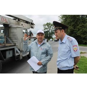 Активисты ОНФ проверили пешеходные переходы возле учебных заведений Калининградской области