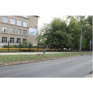 ОНФ проверил обустройство пешеходных переходов  около школ города Самары