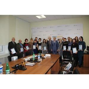Орловские энергетики наградили  журналистов