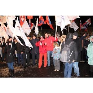 Активисты ОНФ приняли участие в акции «Россия — Крым: вместе навсегда!» в Самаре