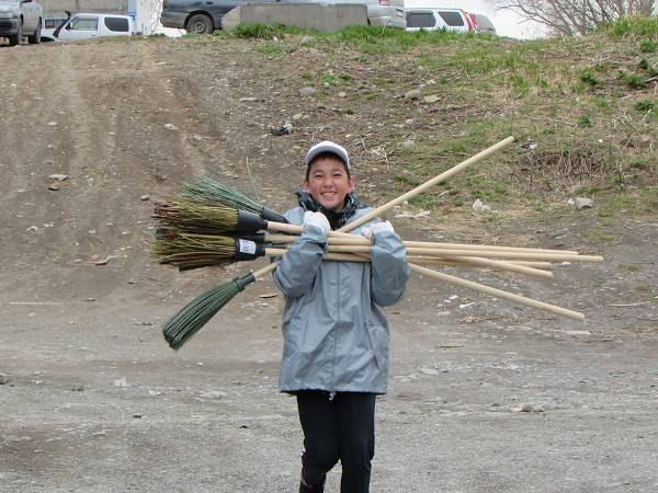 Активисты ОНФ на Камчатке провели субботник в рамках проекта «Генеральная уборка»