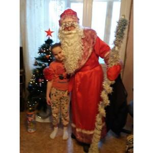 Пензенским детям-инвалидам вручены новогодние подарки