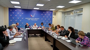 Активисты ОНФ провели круглый стол по итогам мониторинга медучреждений Ленинградской области