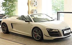 Audi R8 GT Spyder � ���������� � ����� � ���� ����� ������!