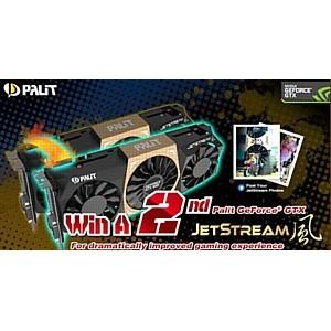 Выиграй 2-ю видеокарту Palit GeForceGTX JetStream для лучших игровых впечатлений