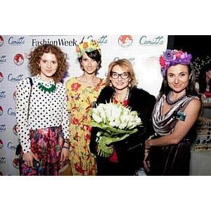 Актриса Анастасия Цветаева организовала девичник на Неделе Моды