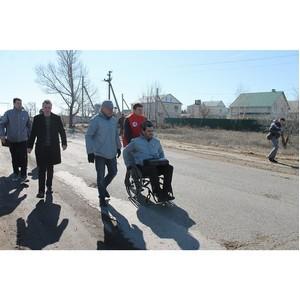 ОНФ просит полицию взять на контроль расследование инцидента с инвалидом-колясочником
