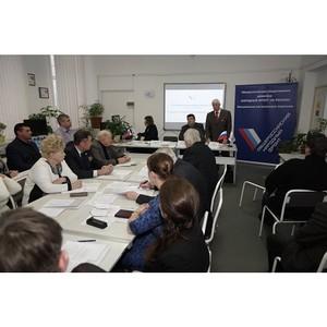 Активисты ОНФ из Костромы сформировали более 20 предложений в адрес органов исполнительной власти