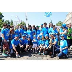Рекордное количество сотрудников Киевстар поддержало благотворительный «Пробег под каштанами»