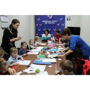 «Молодежка ОНФ» в Мордовии провела мастер-класс для детей