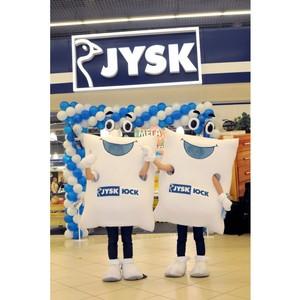 JYSK открывает свой юбилейный магазин в Жемчужине у моря