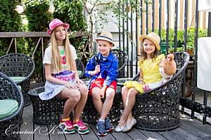 Miki House снова покажет свои образы на детском показе Art Fusion от Еventail Kids