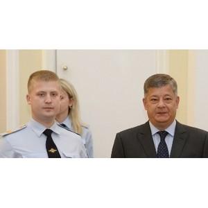 Сотрудников полиции Зеленограда наградили за раскрытие преступления