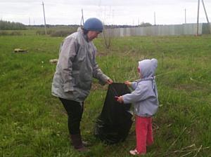 Кировские активисты ОНФ провели серию субботников в рамках проекта «Генеральная уборка»