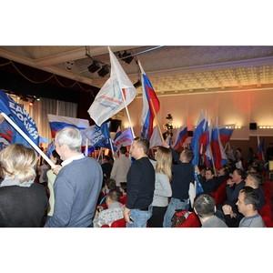 Активисты ОНФ на Ямале приняли участие в митинге «Россия в моем сердце»