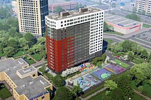В Санкт-Петербурге на ЖК «КосмосStar» холдинга «Аквилон-Инвест» возводятся стены 15-го этажа