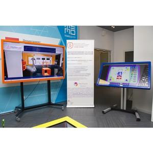 Новые интерактивные панели представили в ТемоЦентре