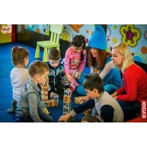 Выходные для детей в ТРЦ «Аура»: обучающие занятия в детском клубе «Ура»