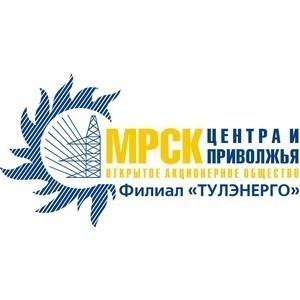 Министерство образования Тульской области выразило благодарность сотрудникам филиала «Тулэнерго»