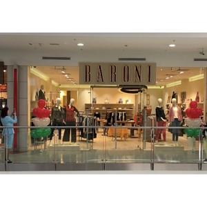 В ТРЦ «Фестиваль», входящем в группу «Сафмар» Михаила Гуцериева, открылся бутик Baroni