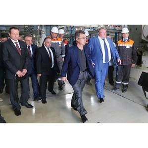 Глава РМ обсудил развитие «Мордовцемент» с председателем Совета директоров Холдинга «Евроцемент груп