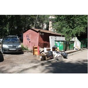 ОНФ просит власти обратить внимание на благоустройство двора в центре Воронежа