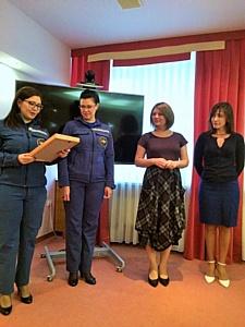 Сотрудников НПНБ наградили благодарственными письмами от ГУ МЧС России по ХМАО-Югре